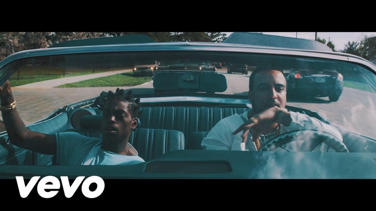 "French Montana drops the ""Lock Jaw"" video with Kodak Black"