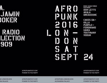Afropunk Festival gets its 1st UK run in London thisSeptember