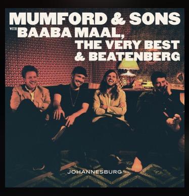 "Mumford & Sons release EP ""Johannesburg"""