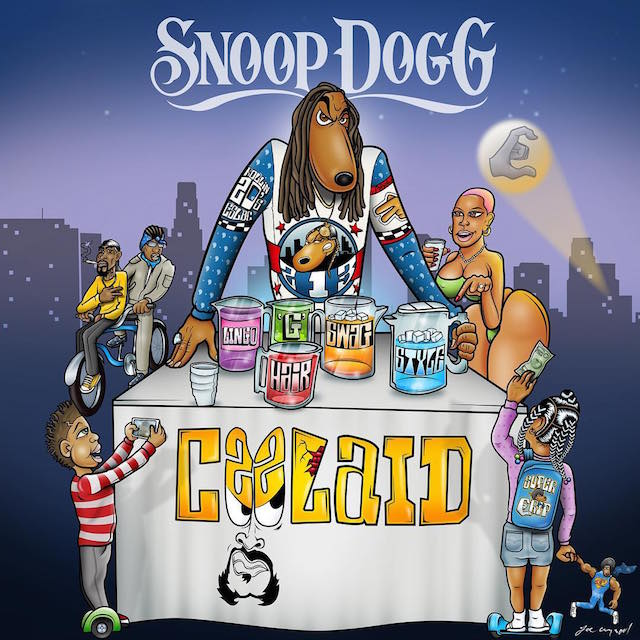 "Snoop Dogg releases cover for new album ""Cool Aid"""