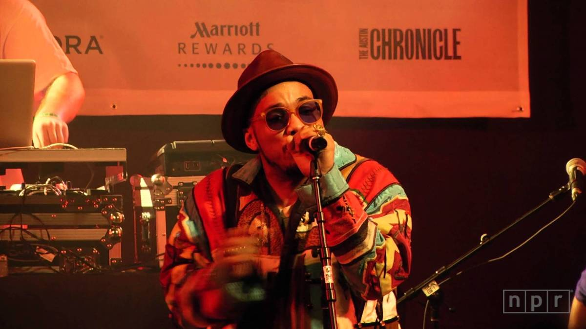 Watch Anderson .Paak perform on NPR's Tiny Desk Concert