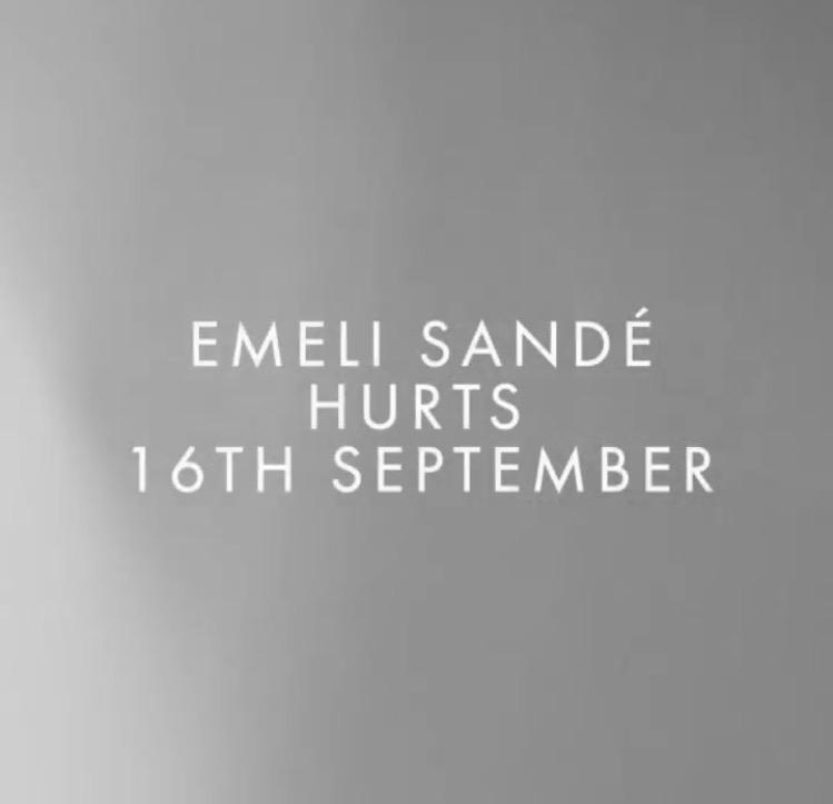 "Emeli Sandé previews new single ""Hurt"""