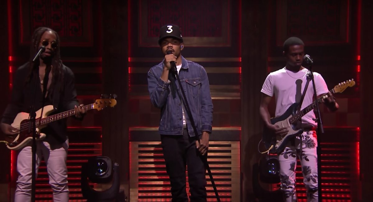 "Watch Chance The Rapper, Anthony Hamilton,D.R.A.M., Ty Dolla $ign,& Raury ""Blessings"" Performace"