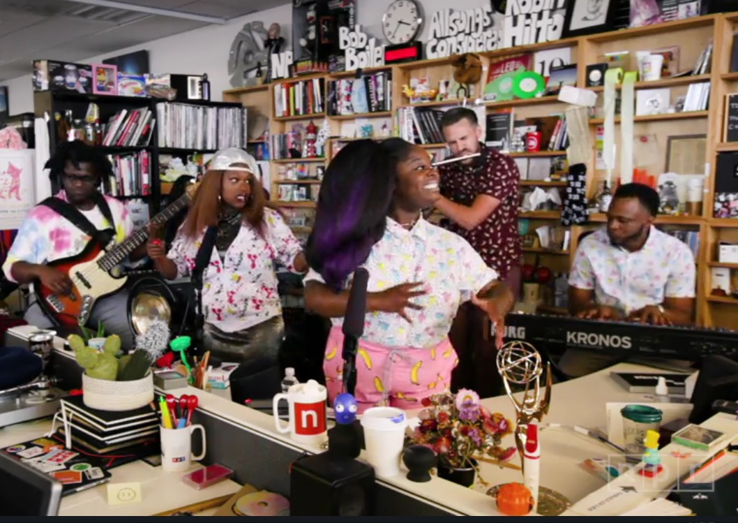 Tank And The Bangas Takeover Tiny Desk
