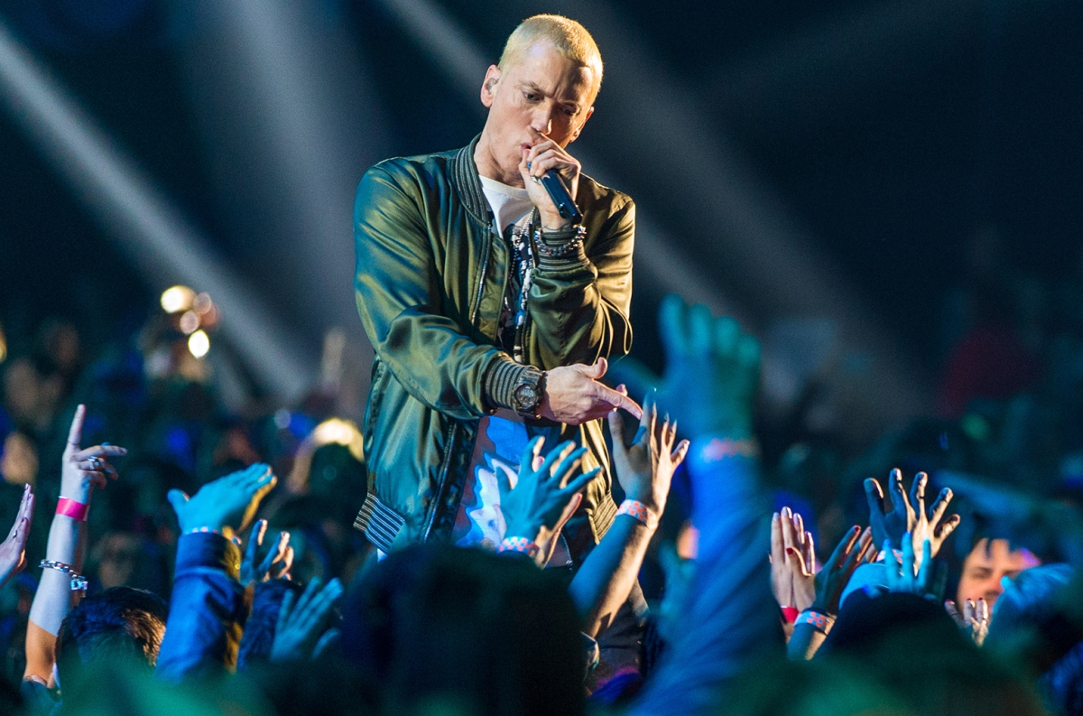 Eminem Released A 15th Anniversary Edition of 'The Eminem Show' Today