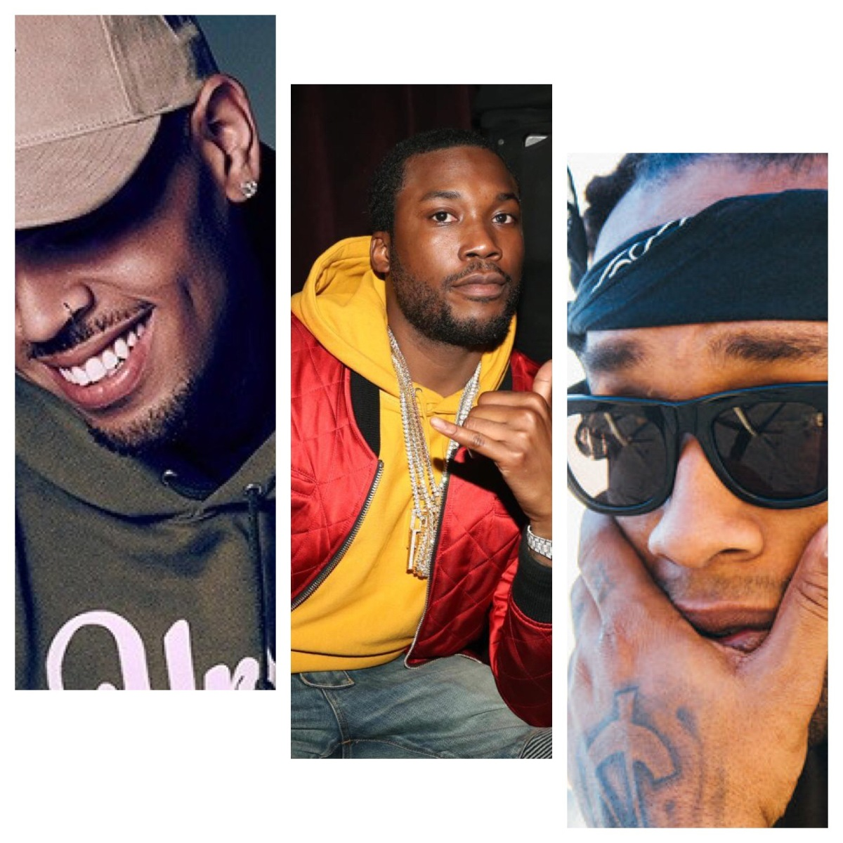 Meek Mill Collabs with Chris Brown & Ty Dolla $ign
