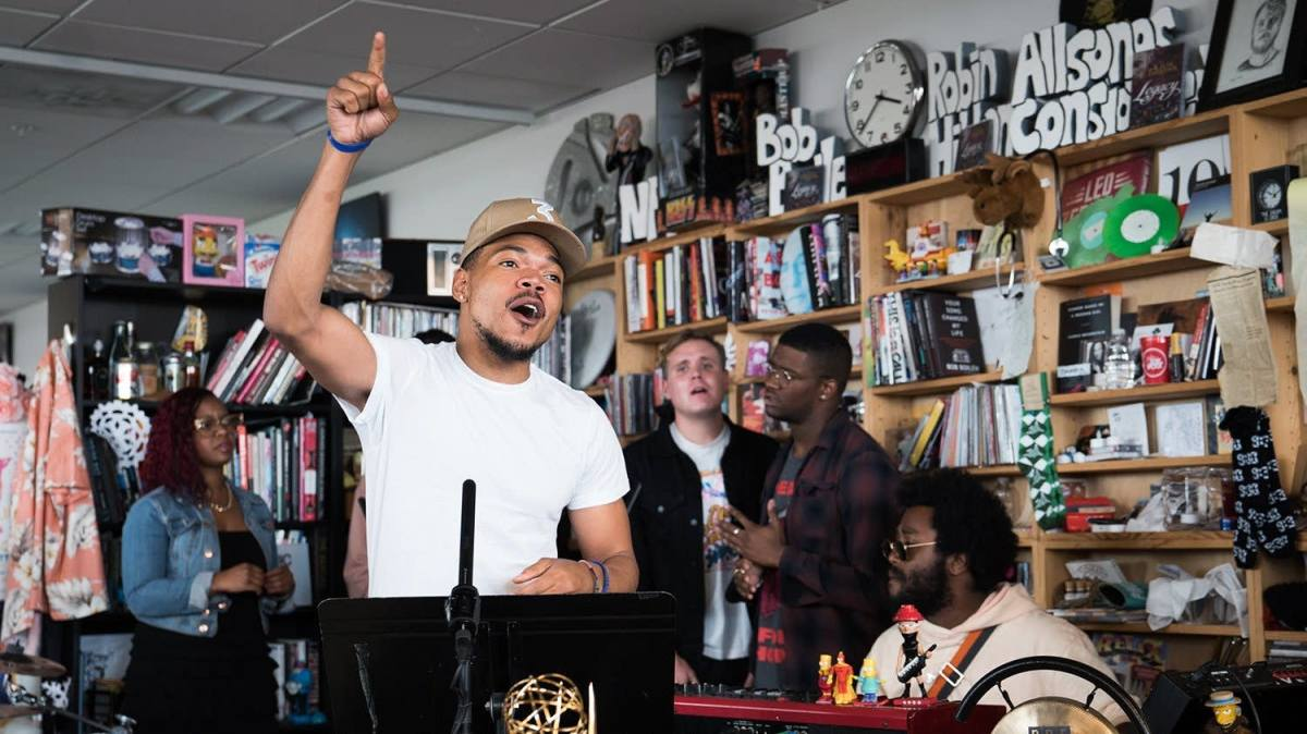 "Watch Chance The Rapper Perform ""Juke Jam"" on Tiny Desk"