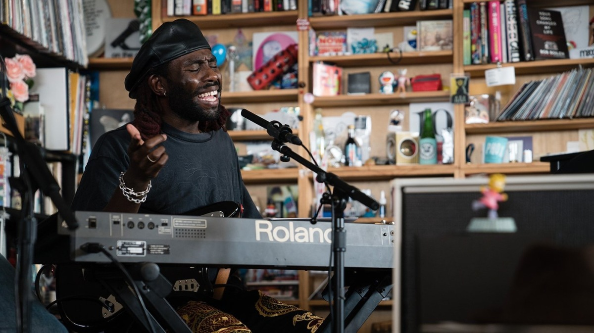 Blood Orange brings 'Negro Swan' to Tiny Desk